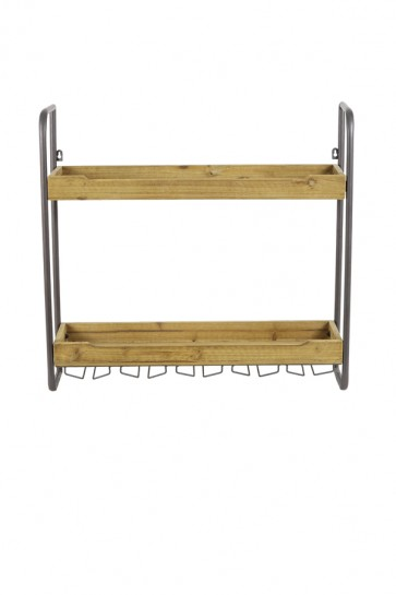 Polička 2 posch. 73x20x69 cm SUCRE wood