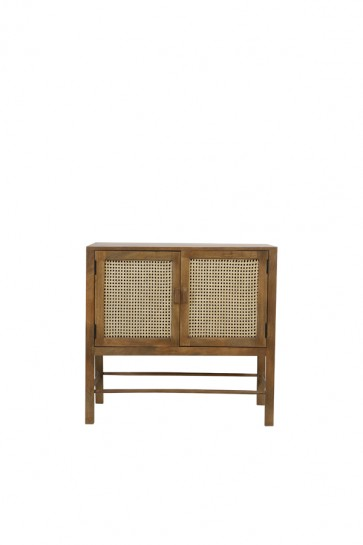 Skrinka 88x40x84 cm NIPAS wood brown