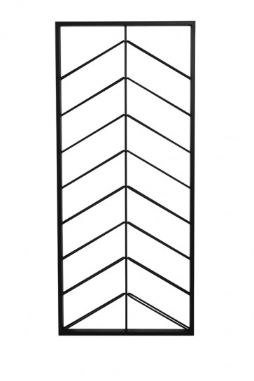 Vínna polička 70x6x160 cm MALBEO black