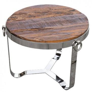 Malý stolík drevený D67 H52