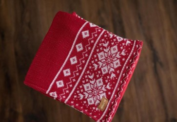 """Detská deka zimná """"Nórsky vzor"""", rôzne farby, 90x110 cm"""