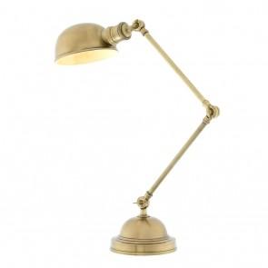 Stolné svietidlo Soho antique brass finish