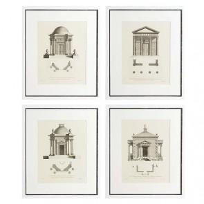 Obraz EC173 Architecture set of 4