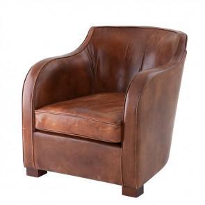 Klubové kreslo Berkshire tobacco leather