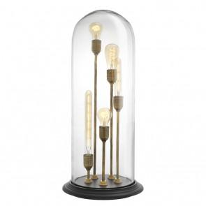 Stolné svietidlo Opus vintage brass finish