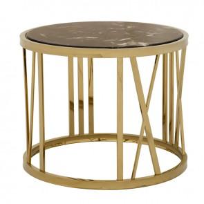 Bočný stolík Baccarat ø 60 x H. 48 cm