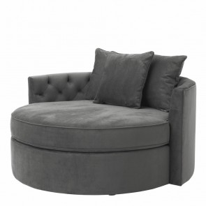 Sedačka Carlita granite grey