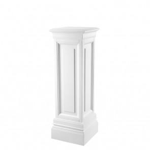 Stĺp Salvatore waxed white finish 100 cm