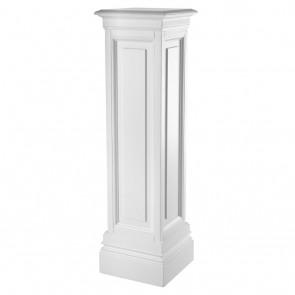 Stĺp Salvatore waxed white finish 120 cm
