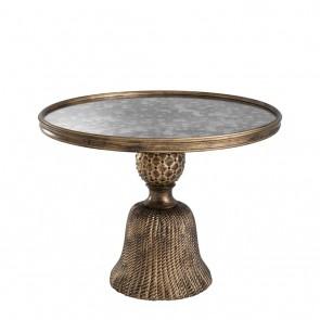 Bočný stolík Fiocchi antique gold finish S