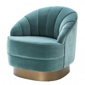 Stolička Hadley cameron deep turquoise
