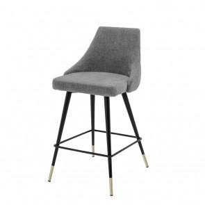 Barová stolička Cedro clarck grey