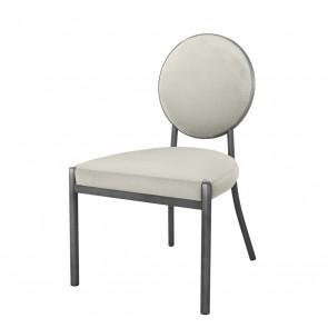 Jedálenská stolička Scribe gunmetal pebble grey