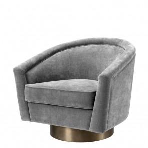 Otočná stolička Catene clarck grey