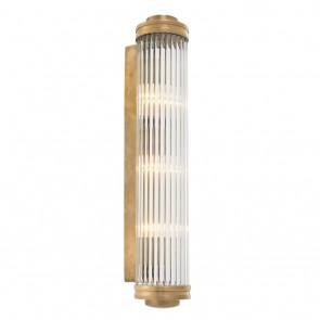 Nástenné svietidlo Gascogne XL vintage brass finish