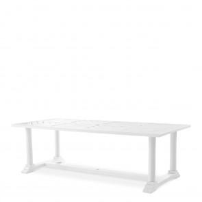 Jedálenský stôl Bell Rive biely