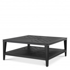 Kávový stolík Bell Rive čierny štorcový