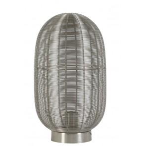 Stolné svietidlo Ø23x40 cm OPHRA nickel