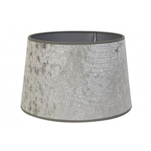 Tienidlo okrúhle 30-25-19 cm CHELSEA velours silver