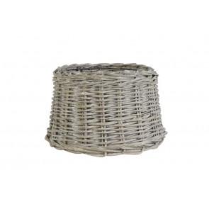 ROTAN grey, Tienidlo okrúhle 30-25-19 cm