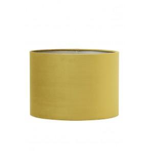 Tienidlo cylindrické 30-30-21 cm VELOURS dusty gold