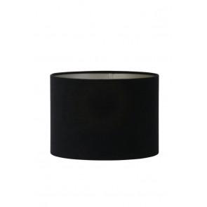 Tienidlo cylindrické 30-30-21 cm VELOURS black-taupe