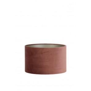 Tienidlo cylindrické 35-35-21 cm VELOURS dusky pink