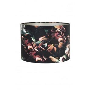 Tienidlo cylindrické 40-40-30 cm VELOURS hydrangea black