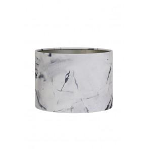 Tienidlo cylindrické 40-40-30 cm MARBLE grey