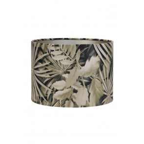Tienidlo cylindrické 50-50-38 cm VELOURS palm sepia