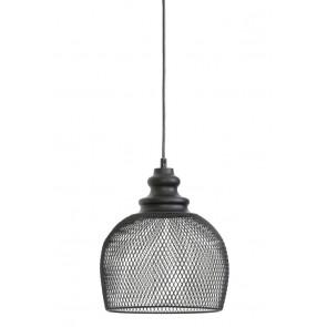 Visiace svietidlo Ø25x28 cm KARLEEN wire black