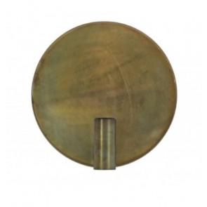 Nástenné svietidlo Ø30 cm DISC gold-grey
