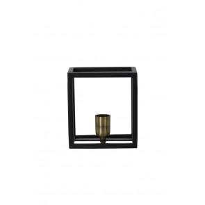 Nástenné svietidlo 18x13x20 cm GLENNY matt black