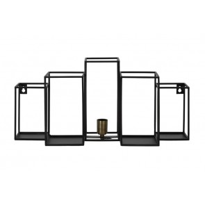 Nástenné svietidlo 65x20x30 cm BALLY matt black
