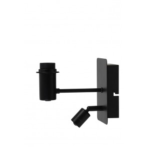 Nástenné svietidlo 11x20x18 cm MONTANA matt black