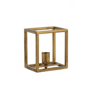 Nástenné svietidlo 18x13x20 cm MARLEY antique gold