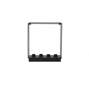 Nástenné svietidlo 4L 35x18x43 cm RAIKO matt black