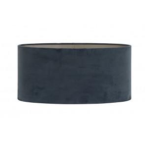 Tienidlo oválne rovné 45-45-22 cm VELOURS dusty blue