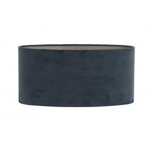Tienidlo oválne rovné 58-58-27 cm VELOURS dusty blue