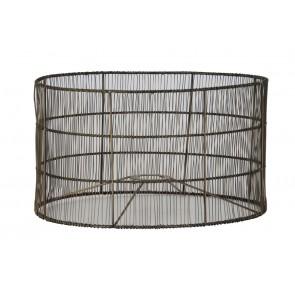 Tienidlo cylindrické 35-35-20 cm MANISA wire antique bronze