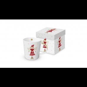 Porcelánový hrnček v krabičke Lucy Red