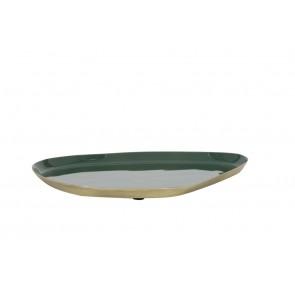 Miska 25x21 cm MOULET green-antique bronze