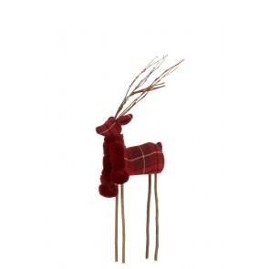 Vianočná dekorácia - jeleň, rozmer 23x10x58 cm