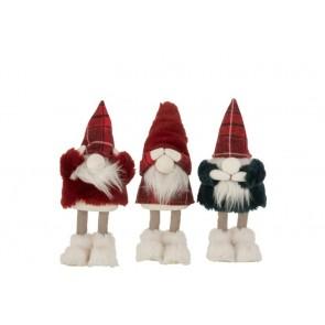 Vianočná dekorácia Santa 1kus, rozmer 14x28 cm