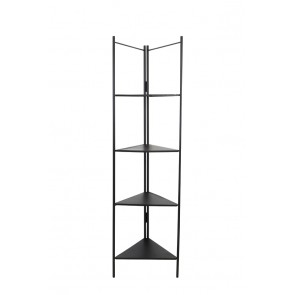 Skrinka otvorená 58,5x41x200 cm DISPLAY black
