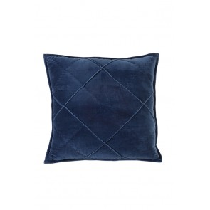 Vankúš 50x50 cm DIAMOND velvet dark blue