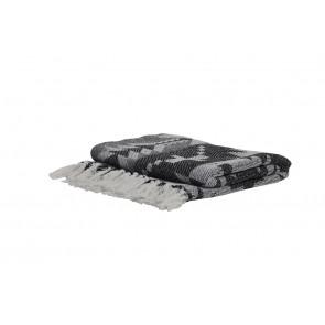 Pléd/deka 150x125 cm MANZI black
