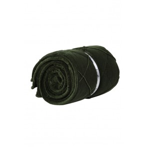 Pléd/deka 180x130 cm DIAMOND velvet olive green