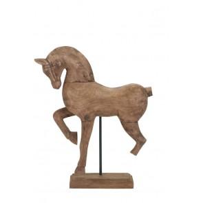 Ornament 37x11x47 cm HORSE wood weather barn