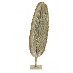 Ornament 14x58 cm list gold